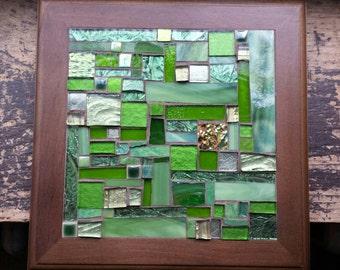 Greenery Patchwork  Mosaic