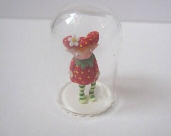 Tiny fairy in a globe