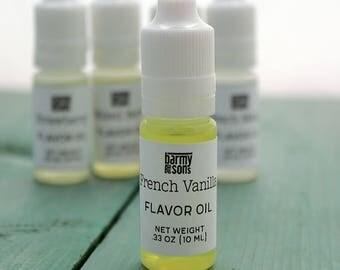 French Vanilla Flavor Oil - DIY Lip Balm