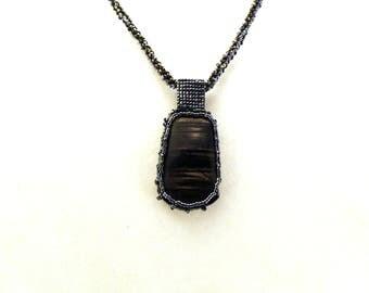 Caged Hyperstien Necklace