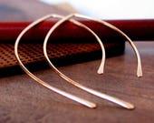Hoop Sale! Open Hoop Earrings. Threader Earrings. Gold Open Hoops. Gold Threader Earrings. Rose Gold Open Hoops. Silver Open Hoops