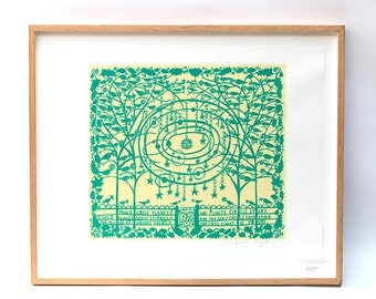 You Are My Universe Framed Screenprint