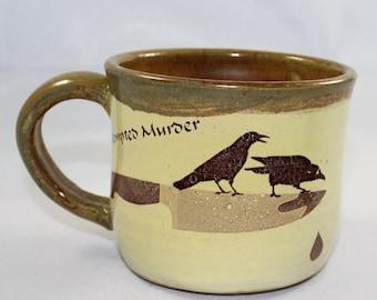 Poe Raven Mug