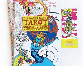 The Sakki-Sakki TAROT Coloring Book - DUO
