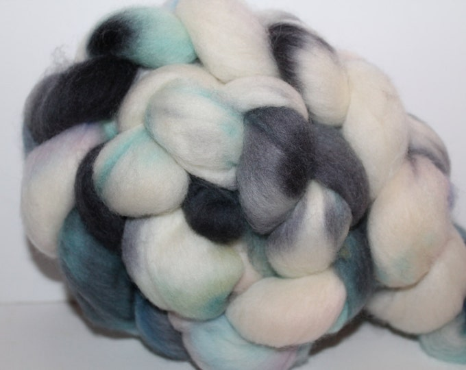 Kette Dyed Polwarth wool top. Roving. Spin. Felt. Super Soft. 4oz FREE SHIP #P21