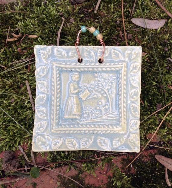 Mini Lady Gardener Tile