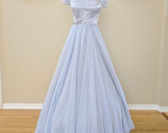 Adult Cinderella Gown / Modest Prom Dress / One of a kind