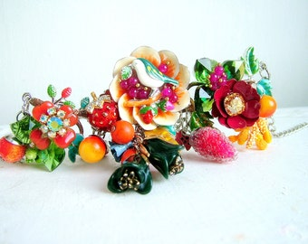 Winter Wonders - OOAK Necklace - Ready to ship xx