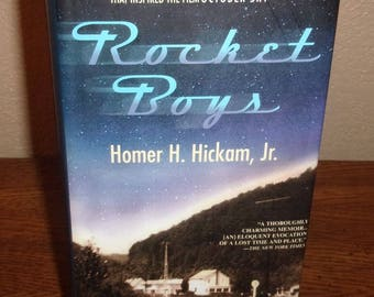 Rocket Boys-Homer H. Hickman, JR.-Hardback Book w/DJ-Signed Autographed