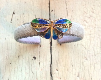 Thin Butterfly Adjustable Cuff