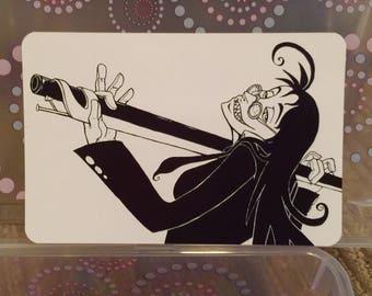 """Hellsing Rip van Winkle - Rip's Boomstick - 6x4"""" Matte Art Print"""