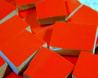 China Mosaic Tiles - RED - 100 Mosaic Tiles
