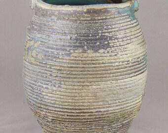 Wood Fired Oribe Vase