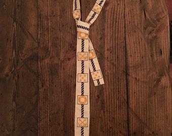 Rare Vintage Nautical Necktie