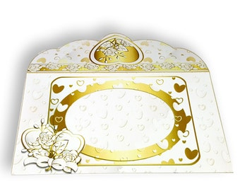 WW03 - Handmade Wedding Gift/Money/Voucher/Wallet/Pocket/Envelopes