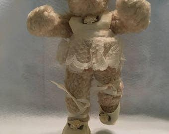Musical Collectible Teddy Bear