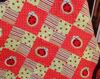 Lovely Ladybug Quilt
