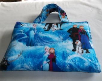 Crayon Holder, Tote Bag, Coloring Caddy, Activity Case, Disney Frozen, Coloring Case, Kids Art Case, Travel Coloring