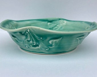 Teal Small Pie plate