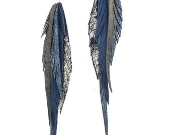 Wholesale listing - a custom made collection of leather feather earrings