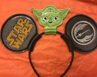 Star Wars Jedi mouse ears
