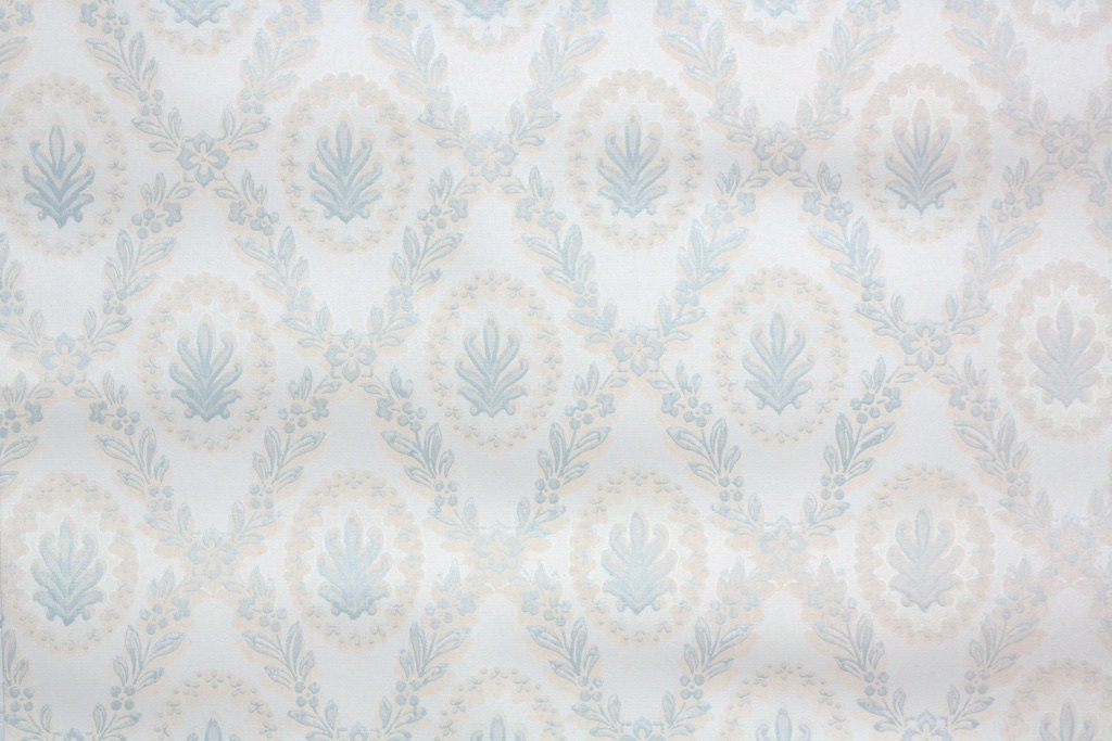 1950s vintage wallpaper white - photo #13
