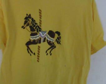carousel horse or koala t shirts
