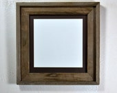 10 x 10 picture frame with mat for 8x8,7x7,6x6 or 5x5 a beautiful natural gray