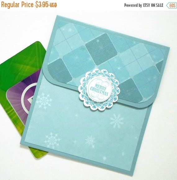 CLEARANCE SALE Christmas Gift Card Holder Hand By