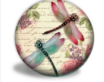 Dragonflies Pocket Mirror,  PM046