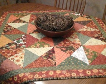 square fall table topper