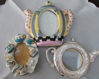 VINTAGE - Tea-themed Picture Frames