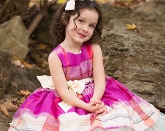 SAMPLE SALE - Evie Dress in Aubergine - Size 7