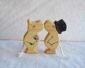 Kissing Wedding Moomins