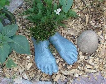 Goddess Planter Feet (Bluestone)