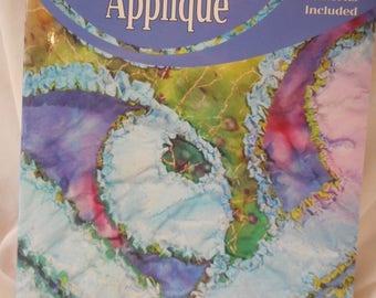 Raggedy Reverse appliqué  quilt book
