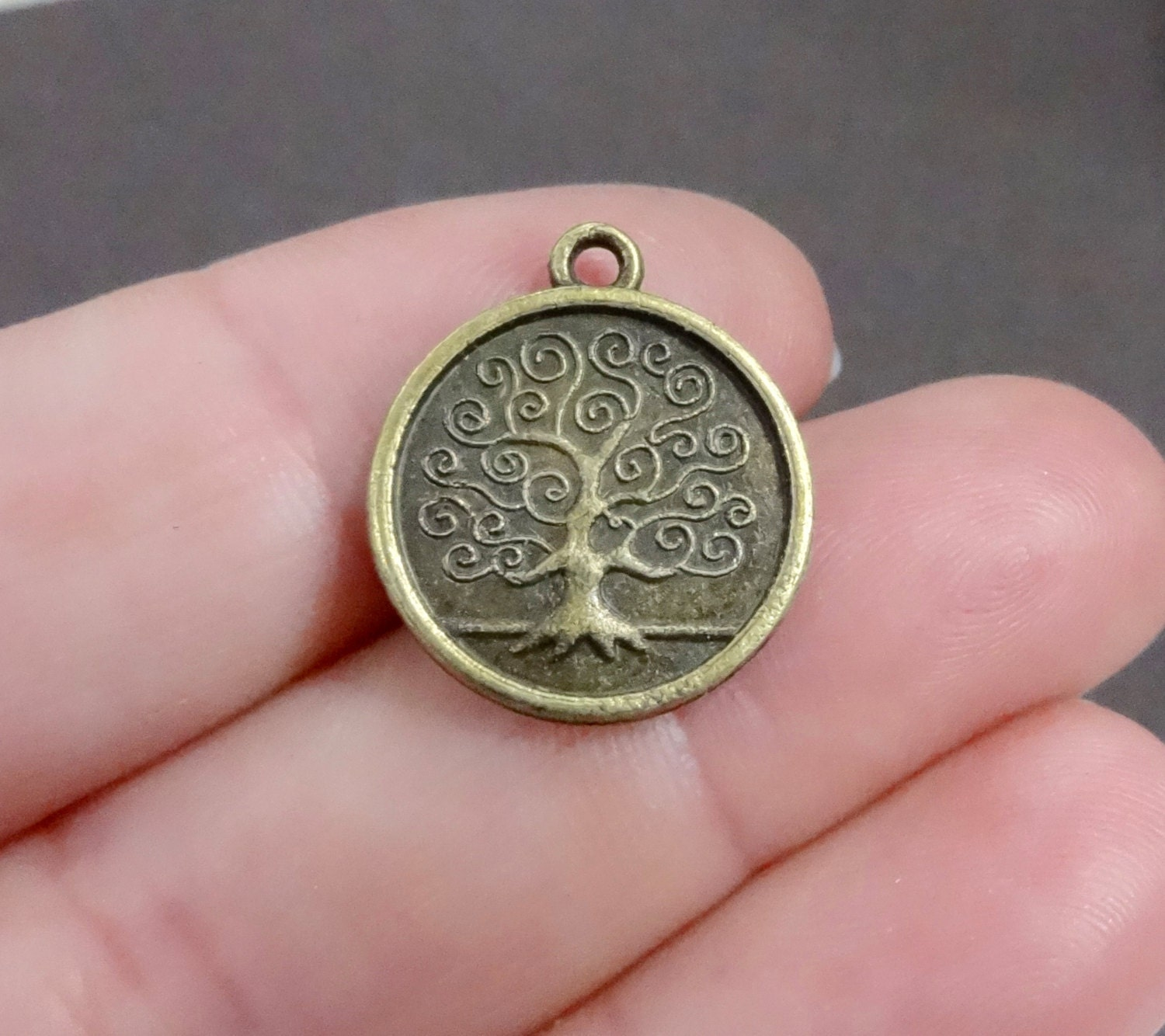 10 Tree Of Life Quot Family Tree Quot Bronze Charms Double Sided