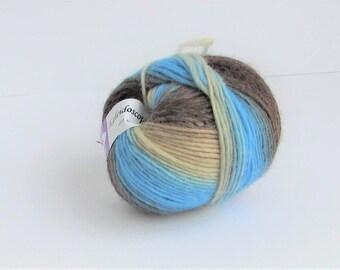 Kaleidoscope, Elegant Yarns, Color 42, wool, C, destash new