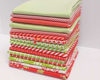 Bonnie and Camille - Red and Green bundle (16 Pieces)