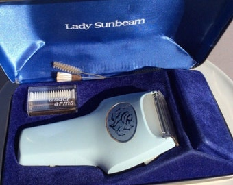 Lady Sunbeam Electric Razor, Vintage Sunbeam Electric Razor, Vintage Beauty, Retro Beauty