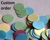 Custom order for P
