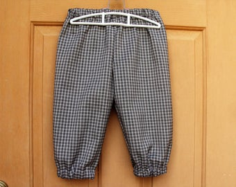 Plaid knickers for Newsies, golf knickers, pirates, school plays, dance performance, colonial, Halloween