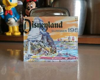 Disneyland Summer of 1959  Disneyland Map Mini Wallet