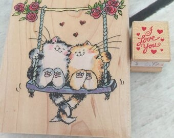 Wedding Engagement Anniversary Rubber Stamp - Penny Black