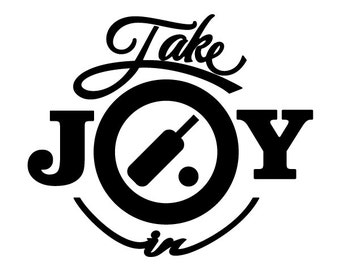 Take Joy In Cricket Decal