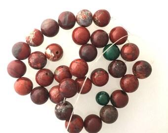 Destash Stone Beads Picture Jasper 10mm