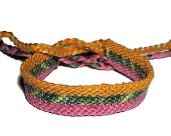 Friendship Bracelet 3 in 1 style bracelet