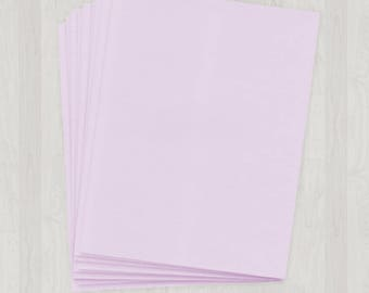 100 Sheets of Text Paper - Light Purple - DIY Invitations - Paper for Weddings & Other Events