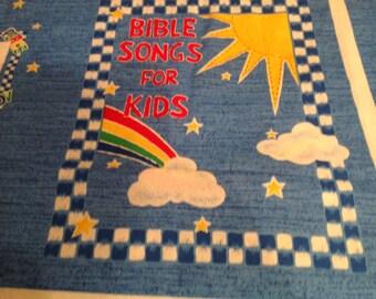 Fabric book Bible Songs