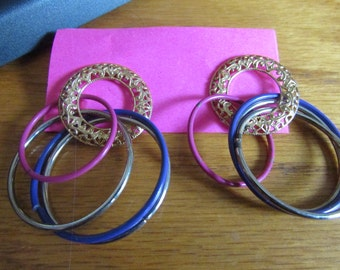 colorful hoops post